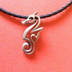 Seahorse 18″ necklace