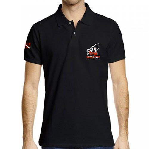 diving Flag Polo Shirt